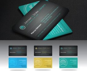Front & Back Attorney Business Card