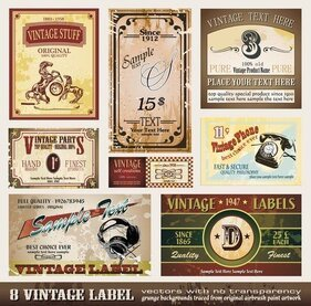 European Classic Bottle Label 01