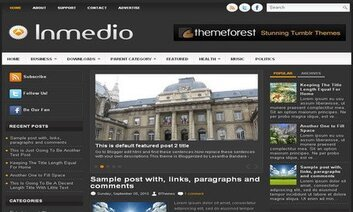 Inmedio Blogger Free Theme