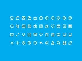 44 Free Icons(PSD)