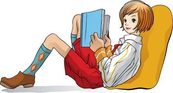 Girl and Book 5