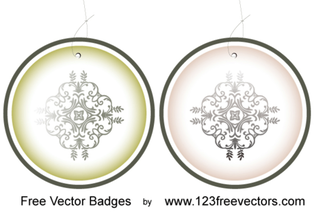 Designed badges free