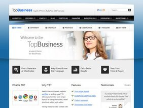 Business PSD template