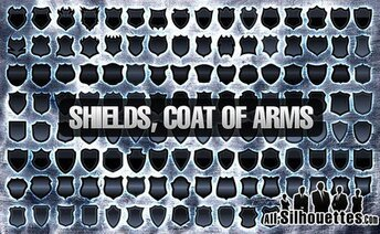 124 120+ Vector Shields, Coat of Arm
