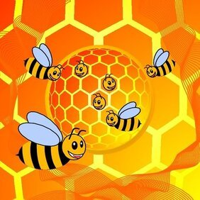 BEE HOUSE VECTOR.eps