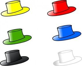 Clothing Six Hats