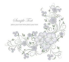 Elegant Full Blossom Flourish Greeting Card