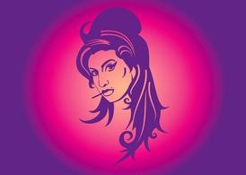 Amy Winehouse Illustration