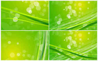 Green Nature Background Pack