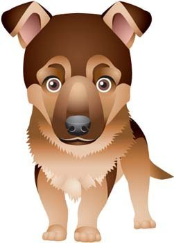 Dog vector collections 4