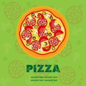 Pizza Illustrator 02