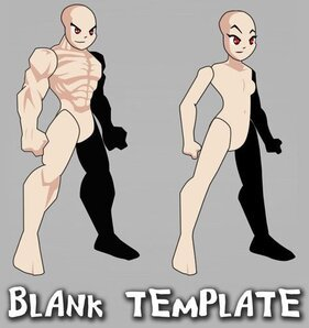 AQW Male and Female Template