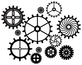 Free Gears Vector Art