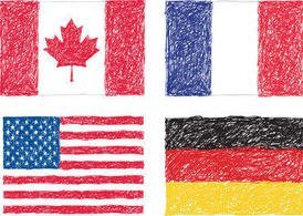 Scribble Flags