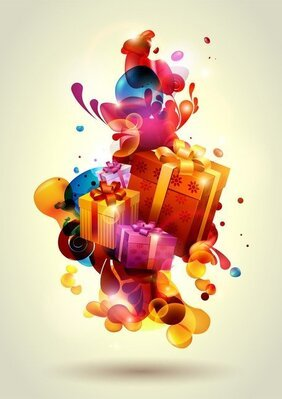 Vector Stylized Gifts