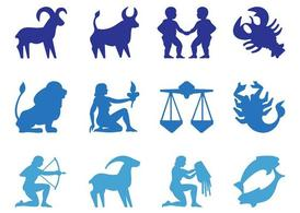 Zodiac Signs Silhouettes