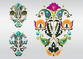 Colorful Floral Designs
