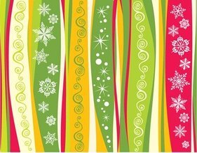 Flocon de neige Christmas Background