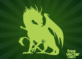 Dragon silhouet Graphics