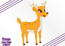 Cartoon Deer Graphics