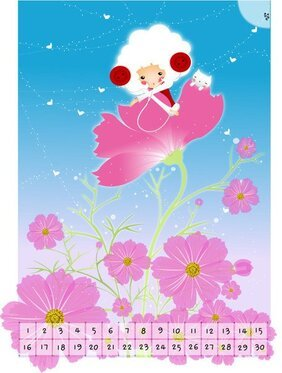 Exquisite South Korea Cartoon Vector Illustration 07