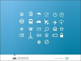 Free Vector Icons Pack 03