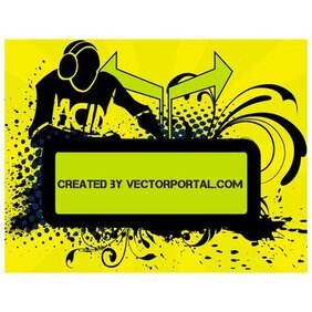DJ PARTY VECTOR ARTWORK.eps