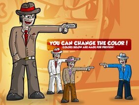 Gangster Cartoon