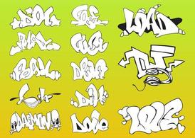 Vector Graffiti stukken