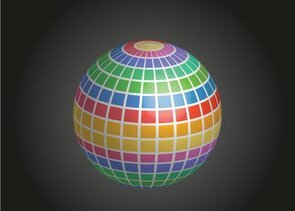 Mosaic Disco Ball