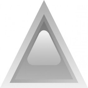 Led Triangular 1 (grey)