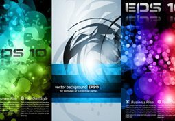 Free Vector Business Card Abstract Set02
