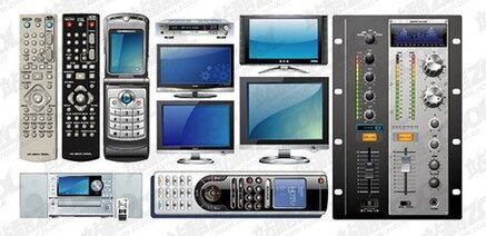 Vector material electrical series multimedia phones