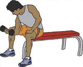 Dumbell Lifter