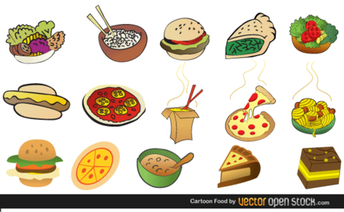 Cartoon Foods Free