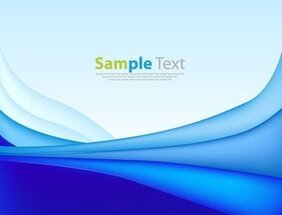 Abstract Blue Background Art