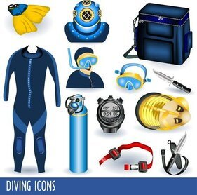 Diving Equipment 01