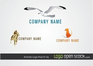 Animal Logo Pack 01