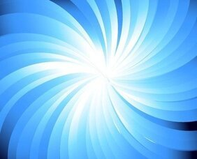 Blue Sunburst abstrait fond illustration vectorielle