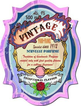 Vintage Wine Label Collection 03