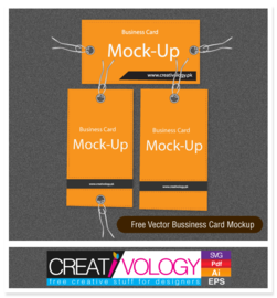 Simplistic Business Card Mockup