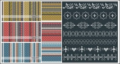 Many practical lace vector material-2