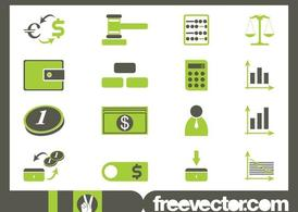 Financial Icon Set