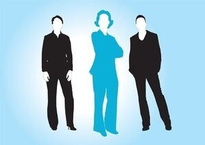 Business Women Vectors