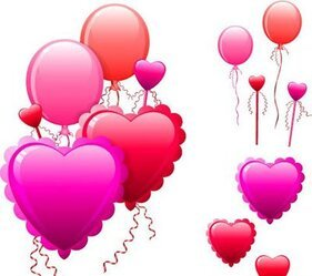Hearts Balloon