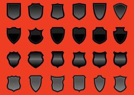 Shields Vector Graphics Set