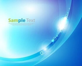 Abstract Blue Background Vector Graphic Artwork