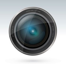 Camera Lens Vector Illustrator Free