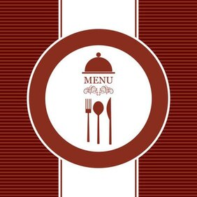 Continental menu template 21