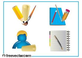 Stationery Graphics Set